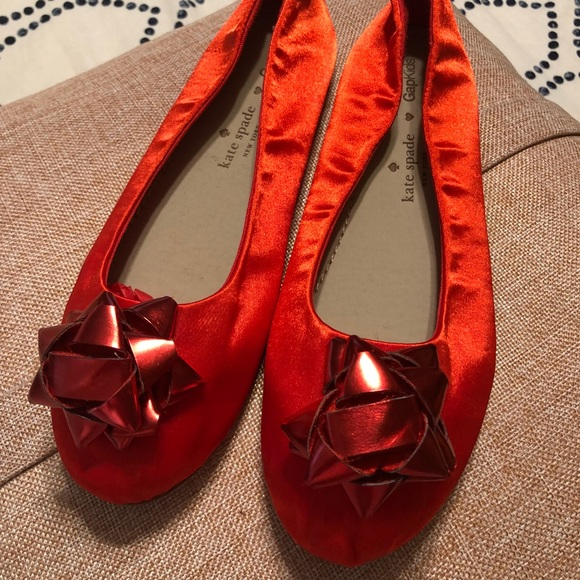 Christmas Shoes For Girls.Kate Spade Girls Christmas Shoes